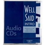 Livro - Well Said - Intro - Pronunciation For Clear Communication - Audio CDs