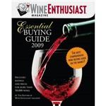 Livro - Wine Enthusiast Essential Buying Guide 2009
