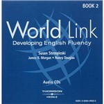 Livro - World Link: Book 2 - Developing English Fluency - Audio CDs