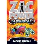 Livro - Zac Power Spy Camp: Zac Nas Alturas