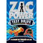 Livro - Zac Power Test Drive - o Ataque de Tubarão de Zac