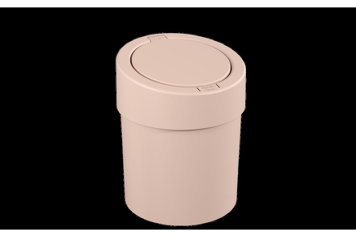 Lixeira Automática 5L 20 X 20 X 25,6 Cm Rosa Blush Coza
