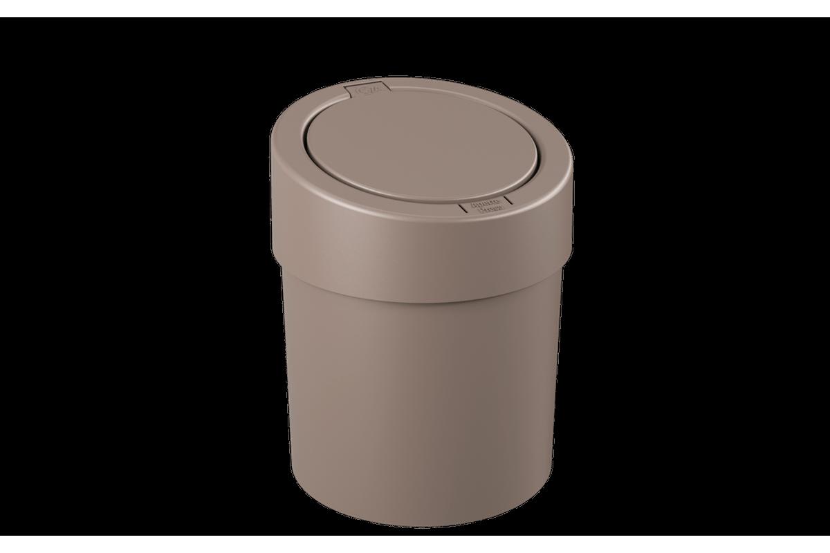 Lixeira Automática 5L 20 X 20 X 25,6 Cm Warm Gray Coza