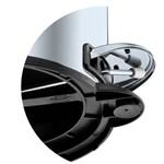 Lixeira em Inox com Pedal e Balde 5 Litros Brinox Cód. 3040/202