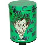 Lixeira Metal DC Comics Joker Verde 5L - Urban