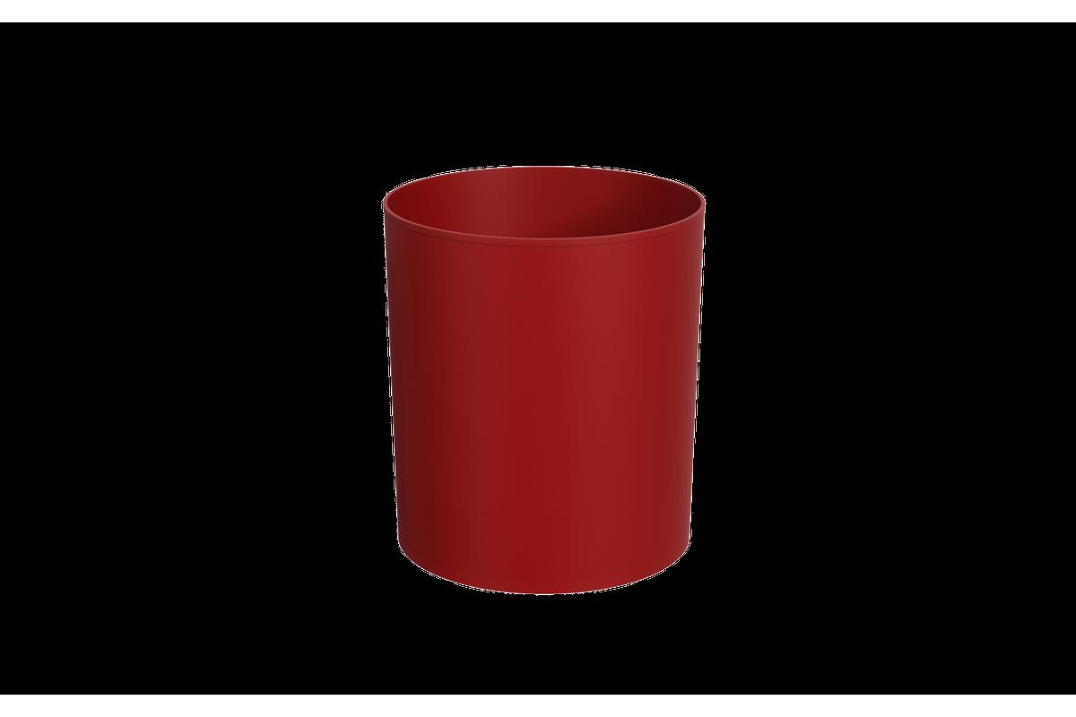 Lixeira Sem Tampa 5L 19,2 X 19,2 X 21,2 Cm Vermelho Bold Coza