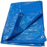 Lona de Polietileno Azul 6X4M - TL6X4