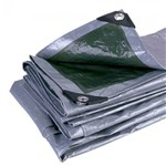 Lona Multiuso CAMPING 6x7 Mts Impermeável Super Reforçada Ilhós Alumínio