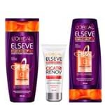 L'Oréal Paris Elseve Supreme Control Kit - Shampoo + Leave-In + Ganhe Condicionador Kit