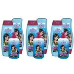 Lorys Kids Princess Butterfly Shampoo + Condicionador 500ml + Creme 300g (kit C/03)