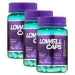 Lowell Caps Kit - Cápsulas de Crescimento X3