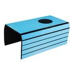 Lugar Americano para Sofá com 1 Espaço para Copo - 40x30 Cm - Laminado Azul