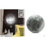Luminária Abajur Lua Led com Controle Remoto