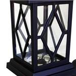 Luminária Balizadora de Led's Tipo Lampião Key West Preta