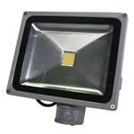 Luminária Led 30w Luz Branca com Sensor 85-265vca Flu-37-002-30w