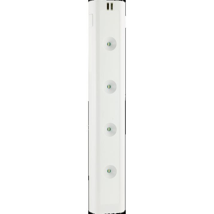 Luminária LED de 30cm com Interruptor