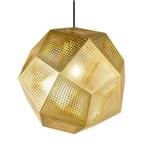 Luminária Pendente Tom Dixon Etch - 30 Cm - Dourado