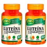 Luteína e Zeanxantina - 2 Un de 60 Cápsulas - Unilife