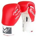 Luva de Boxe Combat 8 OZ Vermelha Vollo VFG302-8