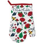 Luva de Cozinha em Algodão Flores Frida Kahlo