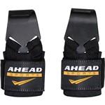 Luva de Musculação Hook Straps C com Gancho Ahead Sports