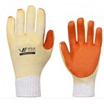 Luva de Segurança Suporte Têxtil Orange Volk Ca 21.367