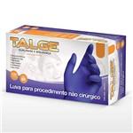 Luva Nitrilica Sem Pó Cor Azul Violeta Contra Agentes Biológicos Caixa 100 Ud Talge CA 39268