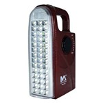 Luz de Emergência Max 870 com 42 Leds