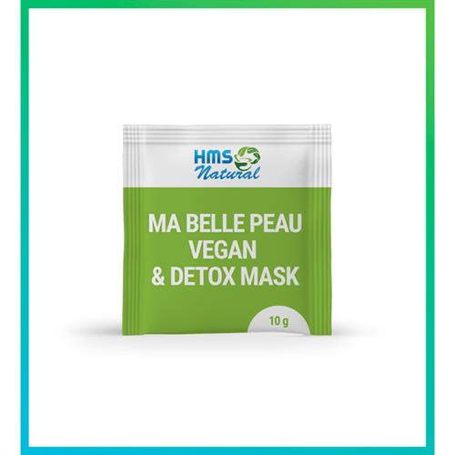 Ma Belle Peau Vegan & Detox Mask 10g 1 Sachê