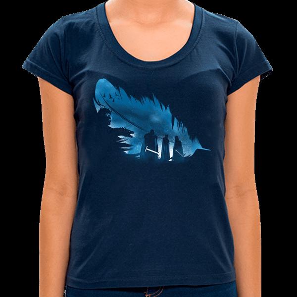MA - Camiseta I The Ice Feather - Feminina - P