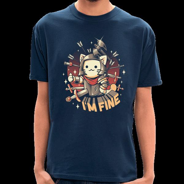 MA - Camiseta I'm Fine - Masculina - P