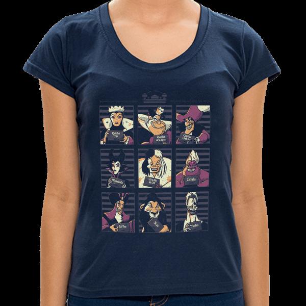 MA - Camiseta Vilões - Feminina - P