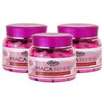 Maca Peruana Femme Care Premium 90 Cápsulas 550mg Kit com 3