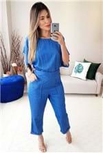 Macacão Colcci Jeans - Azul