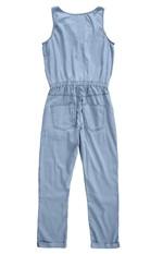 Macacão Jeans Bolsos Malwee Azul Claro - M