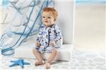 Macacão Praia Infantil Grow Up Menino com Proteção UV 50+ Velejador