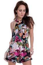 Macaquinho Floral Frente Única MC0061 - G