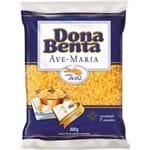 Macarrão Ovos Dona Benta Ave Maria 500g