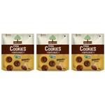Mãe Terra Cookies Integral Banana e Cacau 120g (kit C/03)