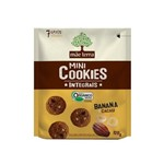 Mãe Terra Cookies Integral Banana e Cacau 120g
