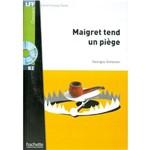 Maigret Tend Un Piege + Cd Mp3 - B2