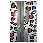 Mala de Viagem Bordo Abs com Carrinho Colors Print Ys21005
