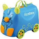 Mala de Viagem Infantil Pequena Caravana Azul em ABS - Batiki