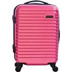 Mala de Viagem Pequena Rosa em ABS - Yins