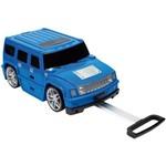 Mala Infantil Escolar Azul ABS Rodinhas 360 Play Racing Road Sestini