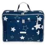 Mala Vintage Estrelas - Marinho - Masterbag