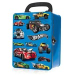 Maleta Alumínio Hot Wheels Car Case Box 18 Carrinhos