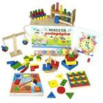Maleta Pedagógica 10 Jogos Educativos em Mdf 1242 - Carlu