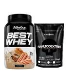 Maltodextrina 1kg - Black Skull+best Whey 900g - Inove Nutrition!!