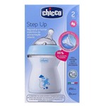 Mamadeira Chicco Step Up 250 Ml Fluxo Médio 2m+ Azul